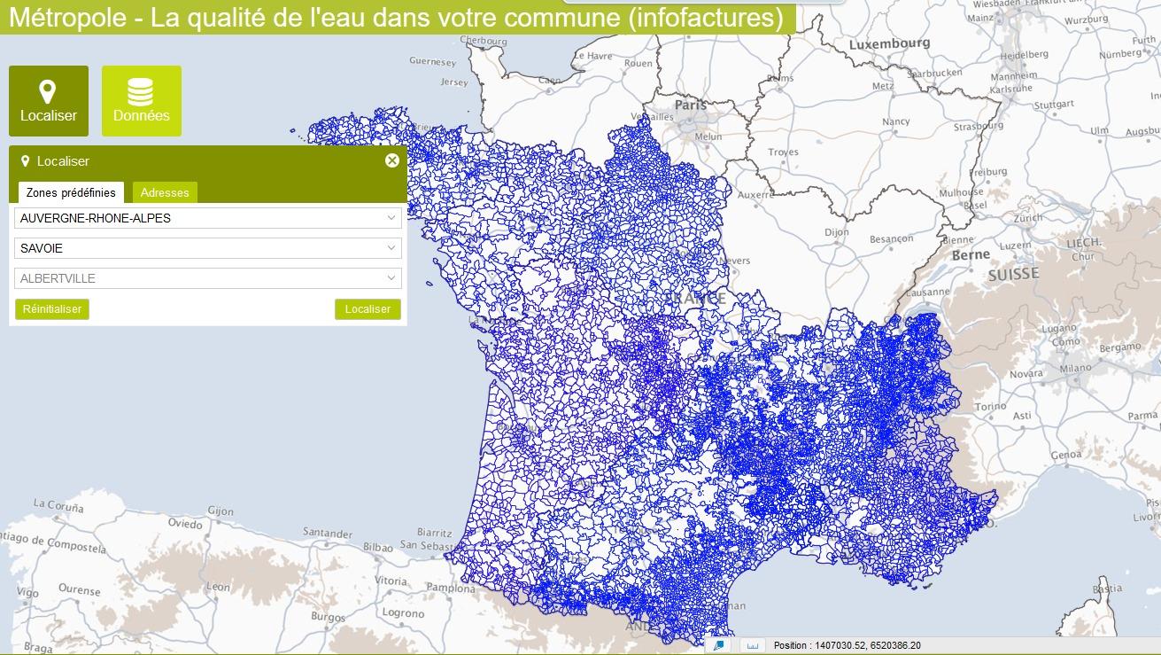 carte dureté de l eau par commune Le service Eau/Assainissement | CA Arlysère
